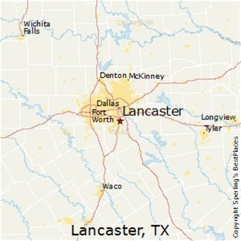 where is lancaster texas on a map best places to live in lancaster texas