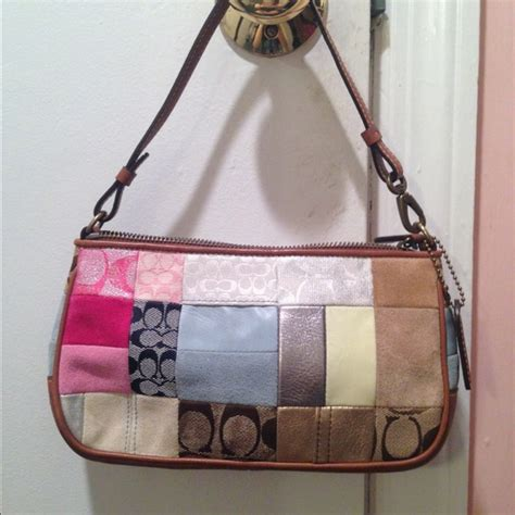 Patchwork Coach - coach small patchwork coach bag from arianna s closet on