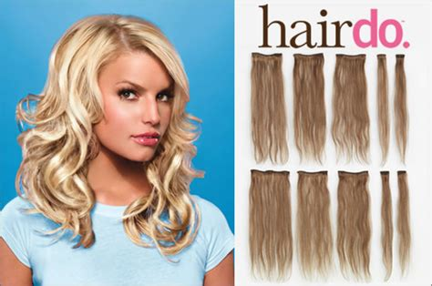 pictures of using jessica simpsons hair extensions on short hair jessica simpson hair extensions are gaining popularity