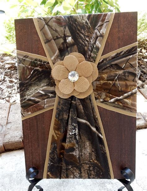Camouflage Nursery Decor Camouflage Fabric Cross On Wood Rustic Wall By Fabriccrossdecor