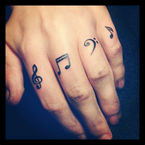 simple tattoo music finger tattoos for women tattoos of music notes musical