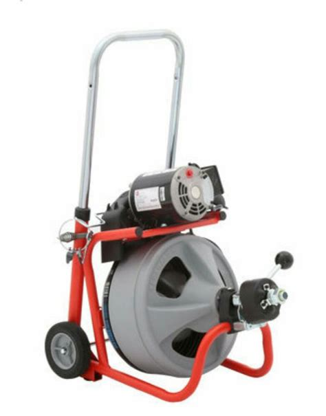 Used Plumbing Snake by Ridgid K 400 T2 Drain Snake Industrial Plumbing Machine Tools Machinery In San Jose Ca