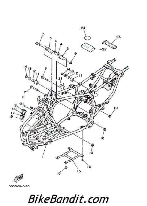 wiring diagram for yamaha 350 warrior 2001 1965 yamaha