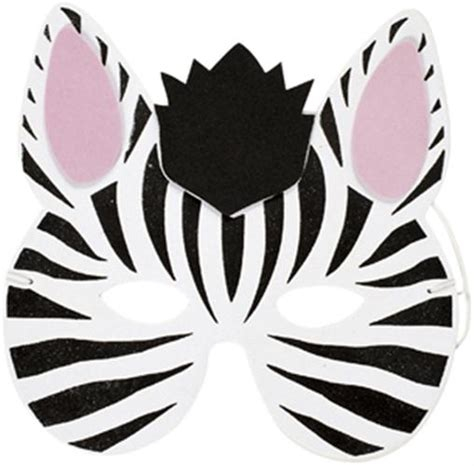 printable animal masks zebra best photos of zebra mask printable template zebra mask
