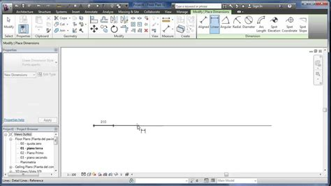 Revit Tutorial Ita Youtube | revit tutorial how to split a line in equal segments