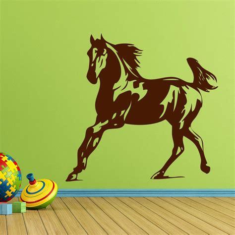 kinderzimmer bilder pferd wandtattoo pferd kinderzimmer 1 18 00