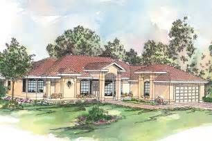 Spanish Ranch House Plans Spanish Style House Plans Richmond 11 048 Associated