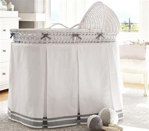 baby bassinet bedding sets bassinet bedding set pottery barn