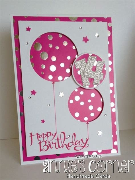 Easy And Beautiful Handmade Cards - simple handmade birthday cards for