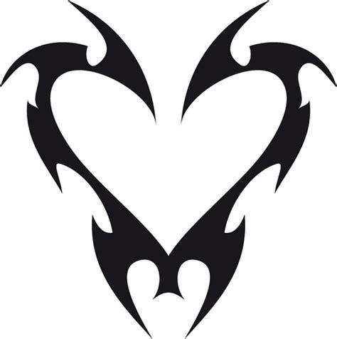 easy heart tattoo designs 15 stunning simple tribal tattoos