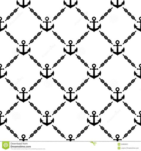 navy pattern vector navy vector seamless pattern with anchors stock vector