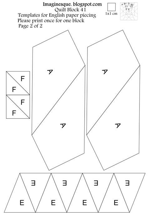 free quilt block templates imaginesque quilt block pattern 41