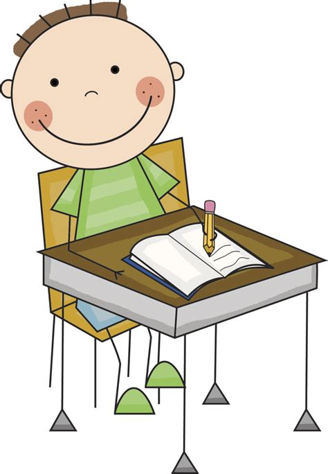 student desk clipart best writing clipart 20784 clipartion