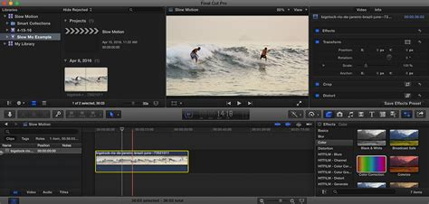 final cut pro how to speed up clip slow down the action with optical flow in final cut pro x