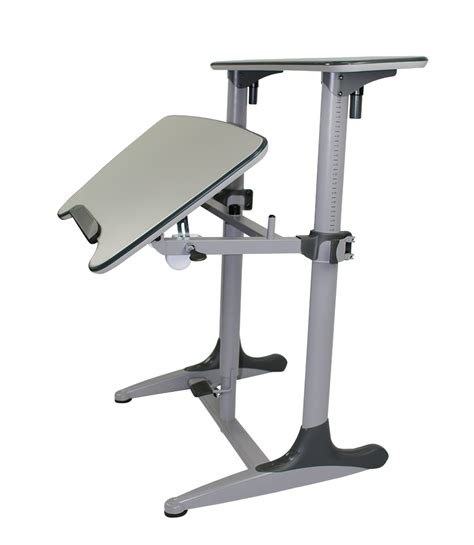 Taskmaster Sit Stand Desk Tilt Adjustable Office Way Adjustable Sit Stand Desk