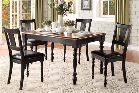 5 pc homelegace beaumont dining laurel grove 5148bk dining 5pc set by homelegance w options