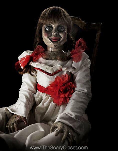 annabelle doll imdb conjuring costomue invitations ideas