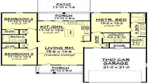400 Square Foot Home Plans 1300 Square Foot House Plans Open House Plans 1300 Sq Ft