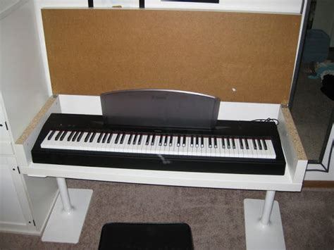 Keyboard Table For by Awesome Keyboard Stand Ikea Hack I Want This Home