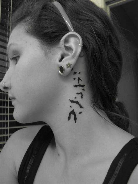 bat tattoo behind ear tiny bat tattoos behind ear tattooshunt com