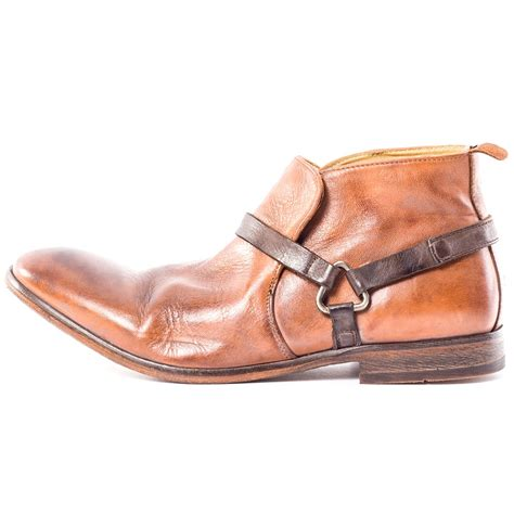 h by hudson hague mens ankle boots in