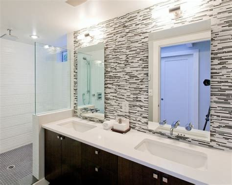 bathroom tile height modele de salle de bain zen nature 433 photo deco