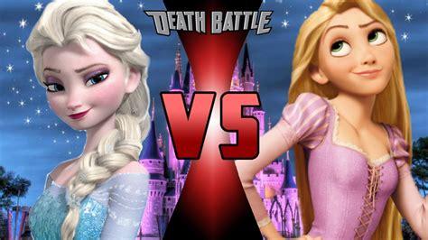 film elsa vs rapunzel elsa vs rapunzel death battle fanon wiki fandom