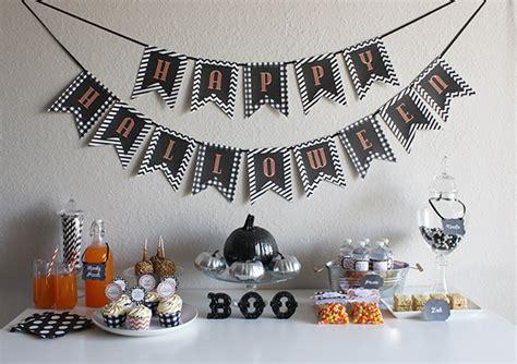 printable halloween decorations parsimonious swank giant post of halloween printables