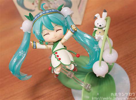 Nendoroid 493 Hatsune Miku Snow Bell Ver By Goodsmile New Mib Kws nendoroid snow miku 2015 snow bell ver my anime shelf