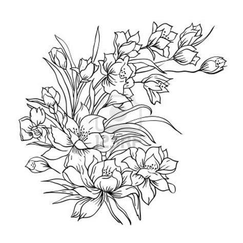 imagenes de flores hermosas para imprimir dibujos de flores dibujos de ramos de flores fondos de