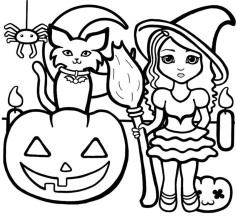 cool halloween printable coloring pages coloring pages cool halloween color pages for kids 101