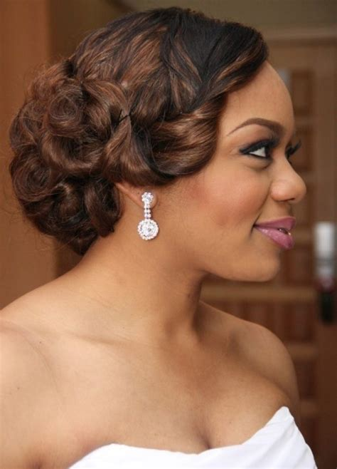 wedding hairstyles black hair 2016 wedding hairstyles for black women the style news
