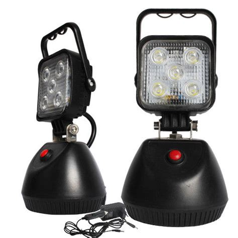 magnetic led work light rechargeable 15w rechargeable magnetic led work light