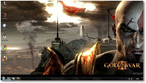 god version pc windows 7 god of war 3 theme for windows 7 and windows 8