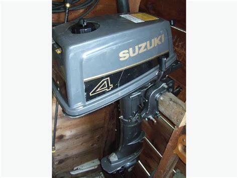 2 Stroke Suzuki Outboard Suzuki Dt4 2 Stroke 4hp Outboard Nanaimo Nanaimo