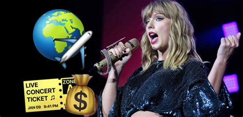 taylor swift reputation tour cost this is how much it d cost to go to every single taylor