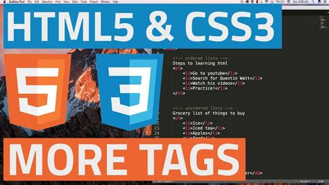 semantic web tutorial youtube html5 and css3 beginner tutorial 29 semantic tags for