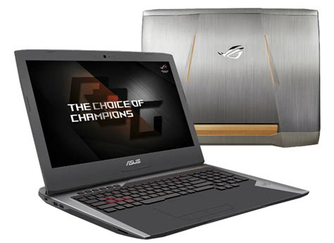 Laptop Asus Processor I7 asus rog announced gaming laptops at ces 2017 with 7th intel i7 processor technave