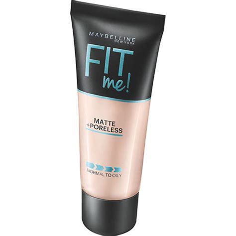 Foundation Maybelline Fit Me Matte fit me matte poreless foundation maybelline kicks
