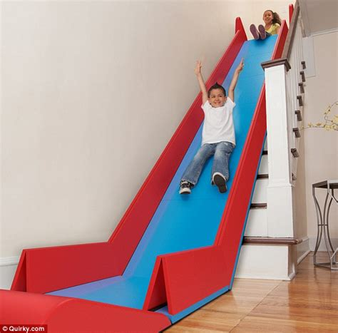 Sliderider Fold Up Mat Turns Stairs Into A Slide Daily Stair Slide