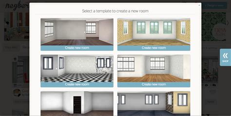 design rooms with new app neybers