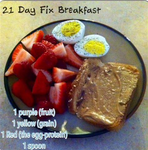 8 Fix Breakfasts For 21 day fix breakfast 21 day fix and 21 days on