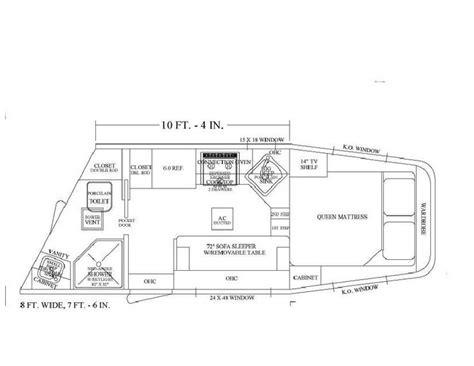 horse trailer living quarter floor plans 39 best images about living quarter floor plans on