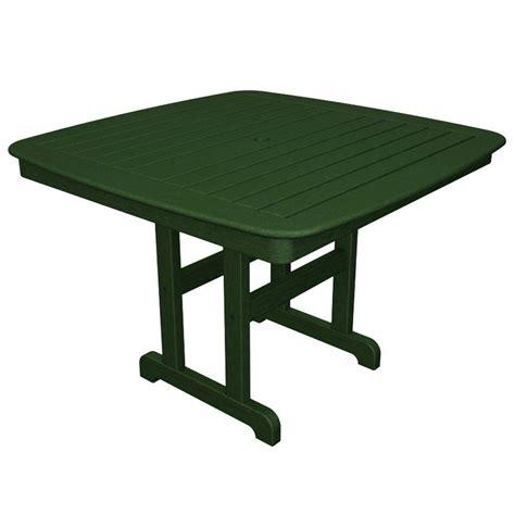 hton bay jackson 44 in patio dining table