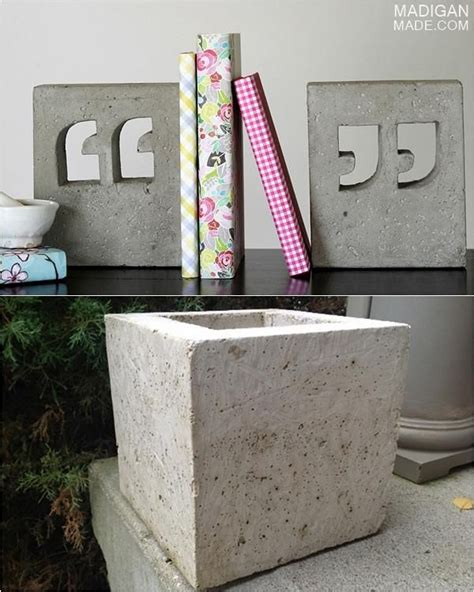 concrete craft projects 25 best ideas about concrete crafts on