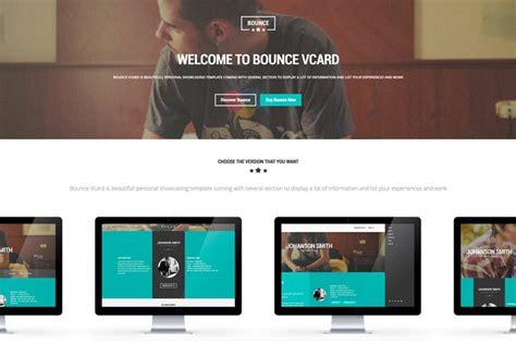 Download 43 Vcard Website Templates Envato Elements Four Page Website Template