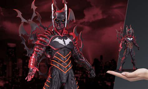 dc comics batman red death statue  dc collectibles
