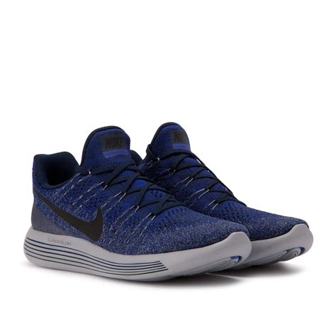 Jual Nike Lunarepic Low Flyknit 2 nike lunarepic low flyknit 2 college navy 863779 406
