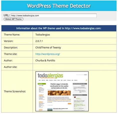 wordpress themes detector wordpress c 243 mo saber qu 233 tema usa un sitio todotutoriales