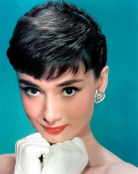 short female movie stars 1950s hairstyles famous 50s actresses hair audrey